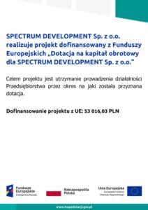 Projekt Dofinansowany